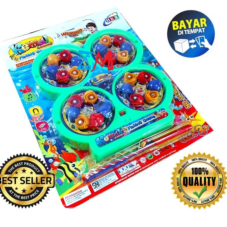 ̄☊ Bộ đồ chơi câu cá 4 món vui nhộn cho bé