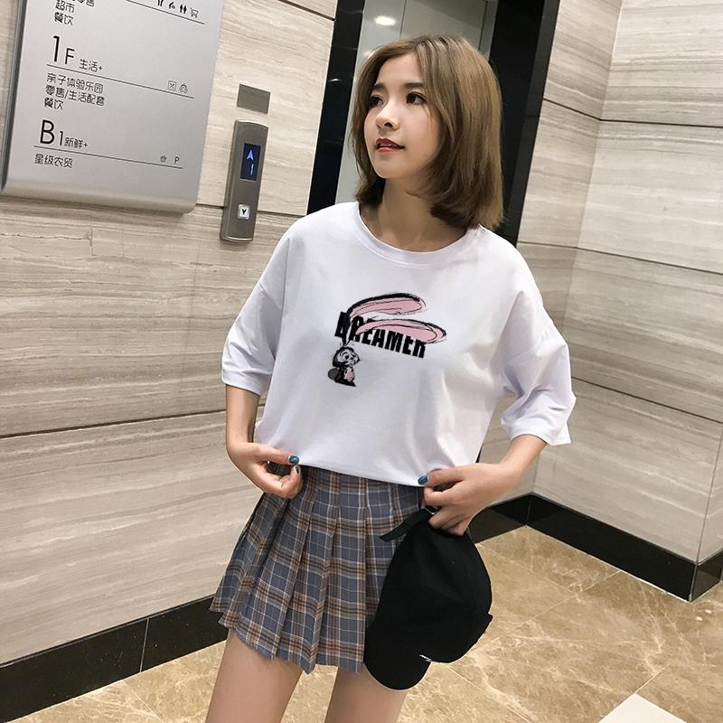 áo thun nữ ngắn tay có túi phong cách hàn quốc