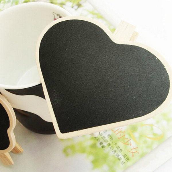 Bảng đen viết phấn bằng gỗ trang trí tiệc cưới