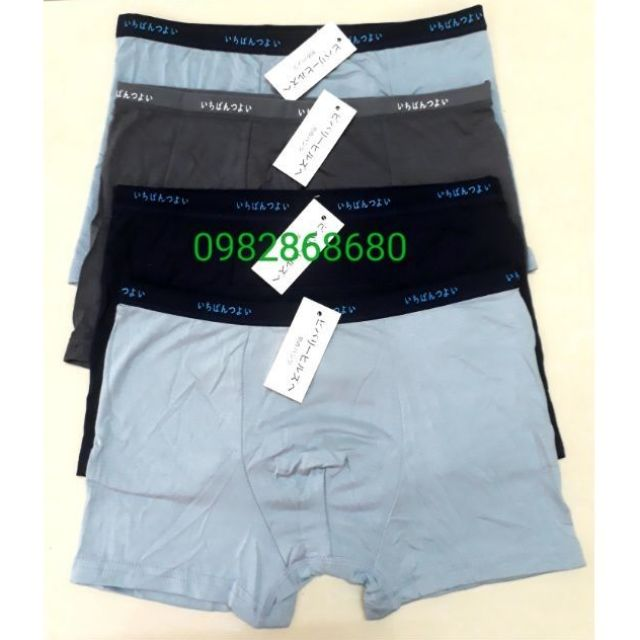 [Hàng đẹp] Combo 9 quần sịp đùi nam xuất nhật loại 1