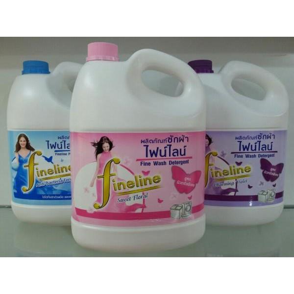 [Nhập HC1712 giảm 10%]Nước giặt Fineline Thái Lan – can 3000ml