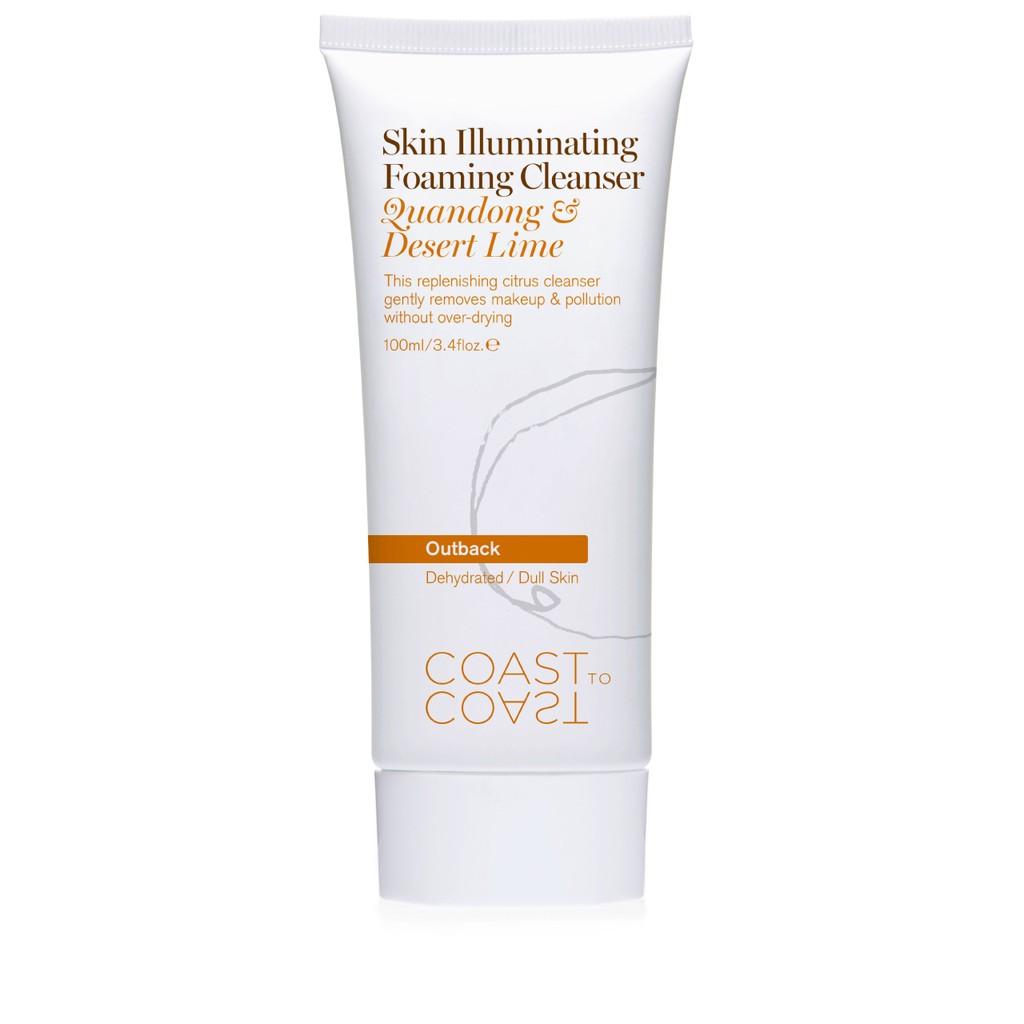 [SAMPLE] Sữa rửa mặt Coast To Coast Skin Illuminating Foaming Cleanser 30ml