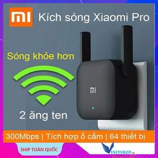 Kích sóng wifi xiaomi pro băng thông 300 Mbps 2 râu – BH 1 năm – Hàng Chính Hãng -dc3030