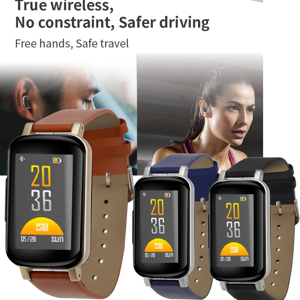 Image result for Wireless Headset Smart Heart Rate Monitor Bracelet