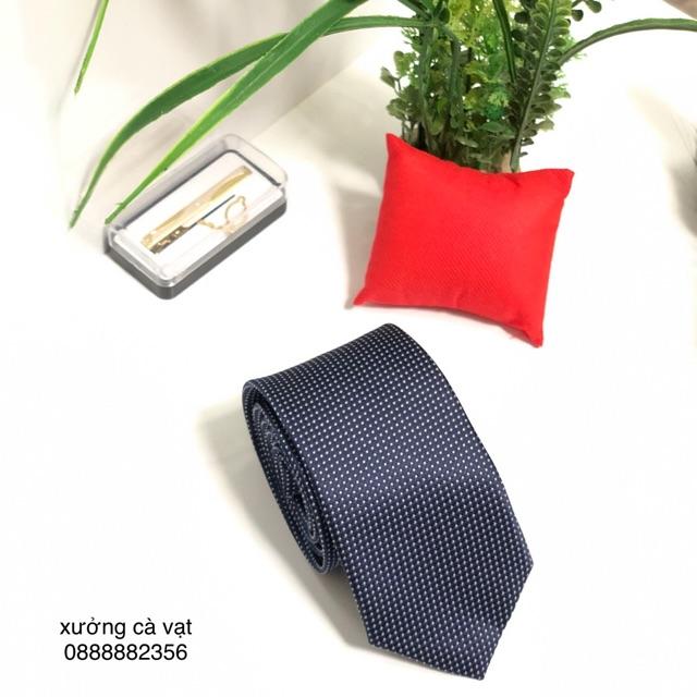 Cà vạt nam bản 7cm - caravat công sơ