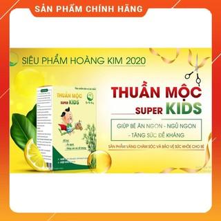 [CHÍNH HÃNG] Thuần Mộc SUPER KIDS - Thanh Mộc Hương - Giúp bé ăn ngon, ngủ ngon, tăng sức đề kháng thumbnail
