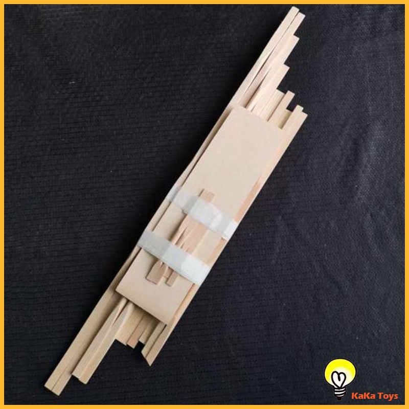 [KaKa Toys] 12x Guitar Tool Spruce Bracewood Kit for Acoustic Guitar Accessories