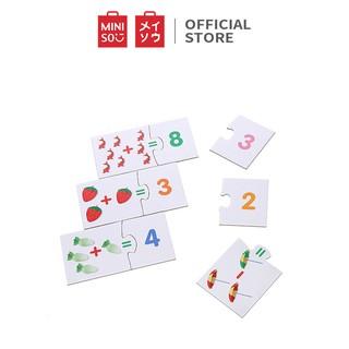 Đồ chơi học đếm Miniso cho trẻ từ 3 tuổi (Nhiều màu) - Hàng chính hãng