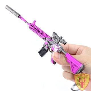 Mô hình súng M416 skin tím 16cm