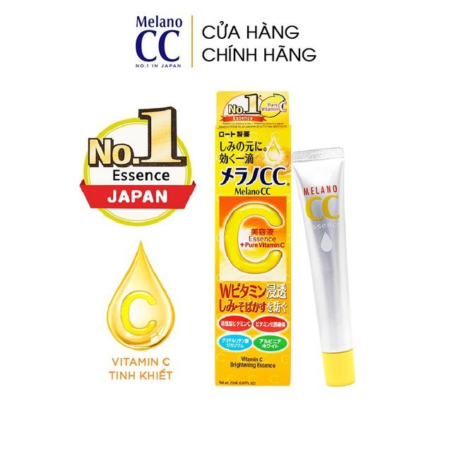 [Mã COSDA10 giảm 10% ĐH 199K] Tinh chất dưỡng trắng da chống thâm nám Melano CC Whitening Essence 20ml