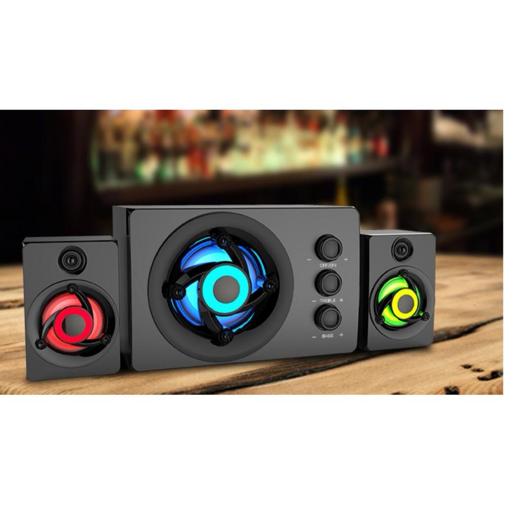 Loa Vi tính  FT- 380U loa bluetooth, điện thoại, laptop, máy tính, bass khỏe (có video test loa + có remote điều khiển)