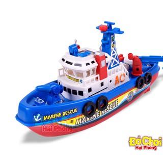 Đồ chơi Tàu thủy chạy dưới nước bằng pin – Fire Boat Đồ chơi Trẻ em rèn luyện trí thông minh (Có sẵn) (ĐỒCHƠITRẺEM)