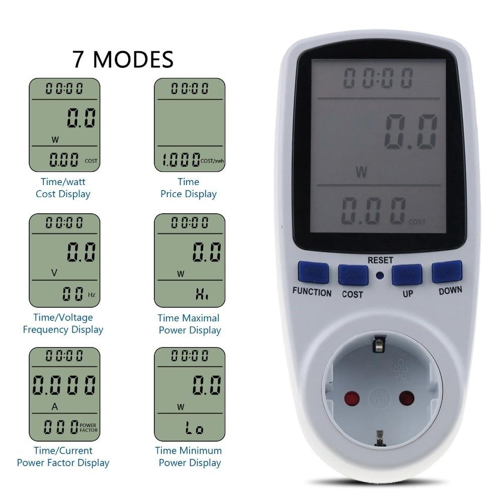 Thiết bị đo công suất tiêu thụ điện cao cấp tiện dụng