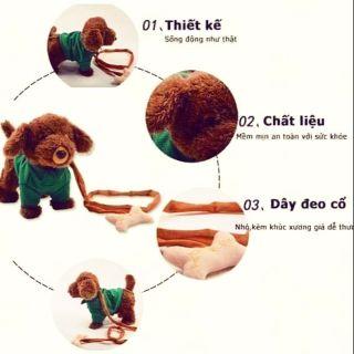 Chó đồ chơi biết đi biết hát