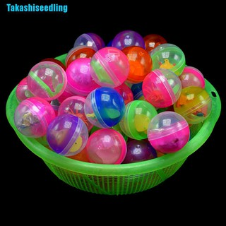 Takashiseedling☬ 10Pcs 45Mm Plastic Balls Capsules Toys With Different Small Toys Vending Machine