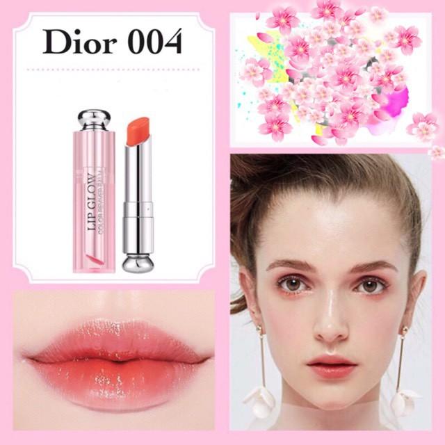 Siêu sale] [ siêu hot] Son Dưỡng Dior Addict Lip Glow Màu 004 ...