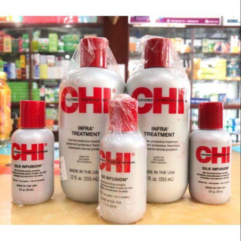 Dầu dưỡng tóc CHI 355ml - 59ml  của Mỹ