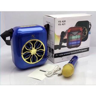 Loa Bluetooth Karaoke YS A20 Kèm Micro Không Dây mic sac đươc