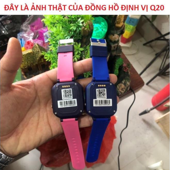 Đồng Hồ Định Vị Trẻ Em, Đồng Hồ Thông Minh Q20 Có Tiếng Việt Chụp Ảnh Camera HD Có Model 2019