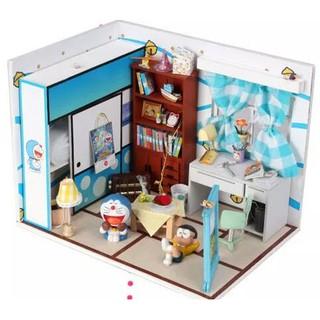 Mô hình nhà búp bê gỗ – Căn phòng doremon nobita xinh xắn (N06)