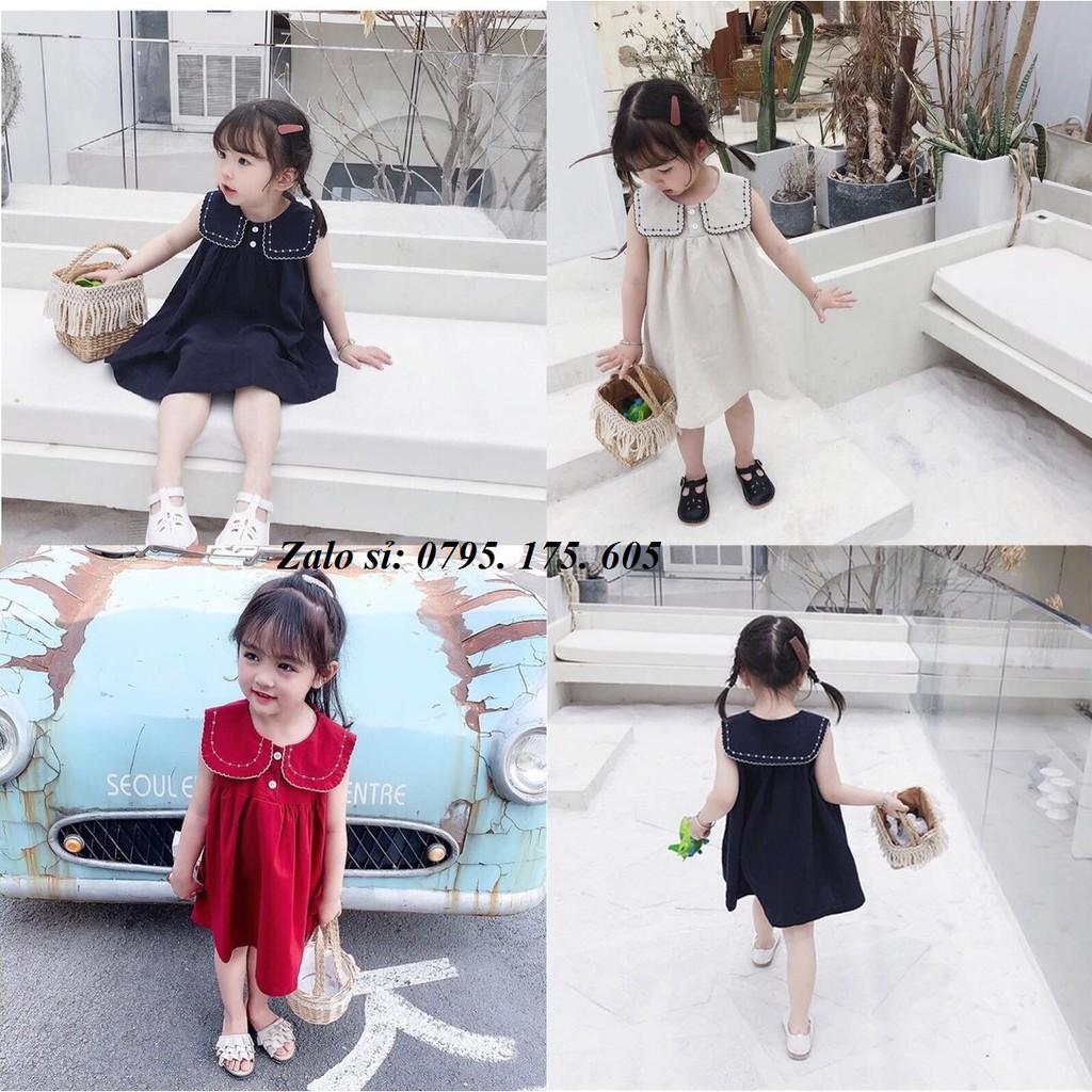 [SALE SẬP SÀN] Váy thêu cực xinh 3 màu cho bé gái