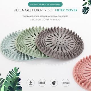 Silicone chìm Lọc lọc nước Ngăn chặn sàn Xả tóc Bồn tắm cắm