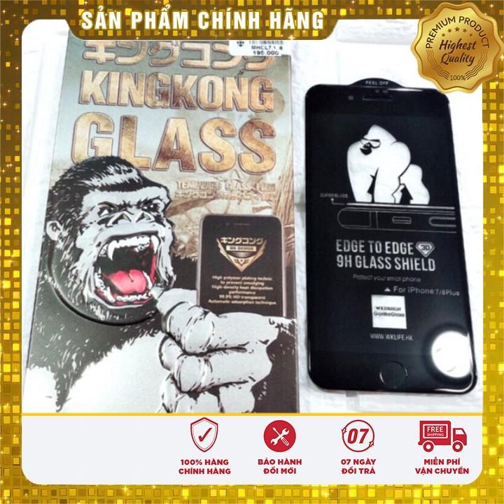 Miếng dán kính Cường Lực King Kong Full Màn,HẠN CHẾ VÂN TAY iPHONE 6,6+,7+,7,11 PRo max , 11 ,11 pro, X , XS MAX , XR,11