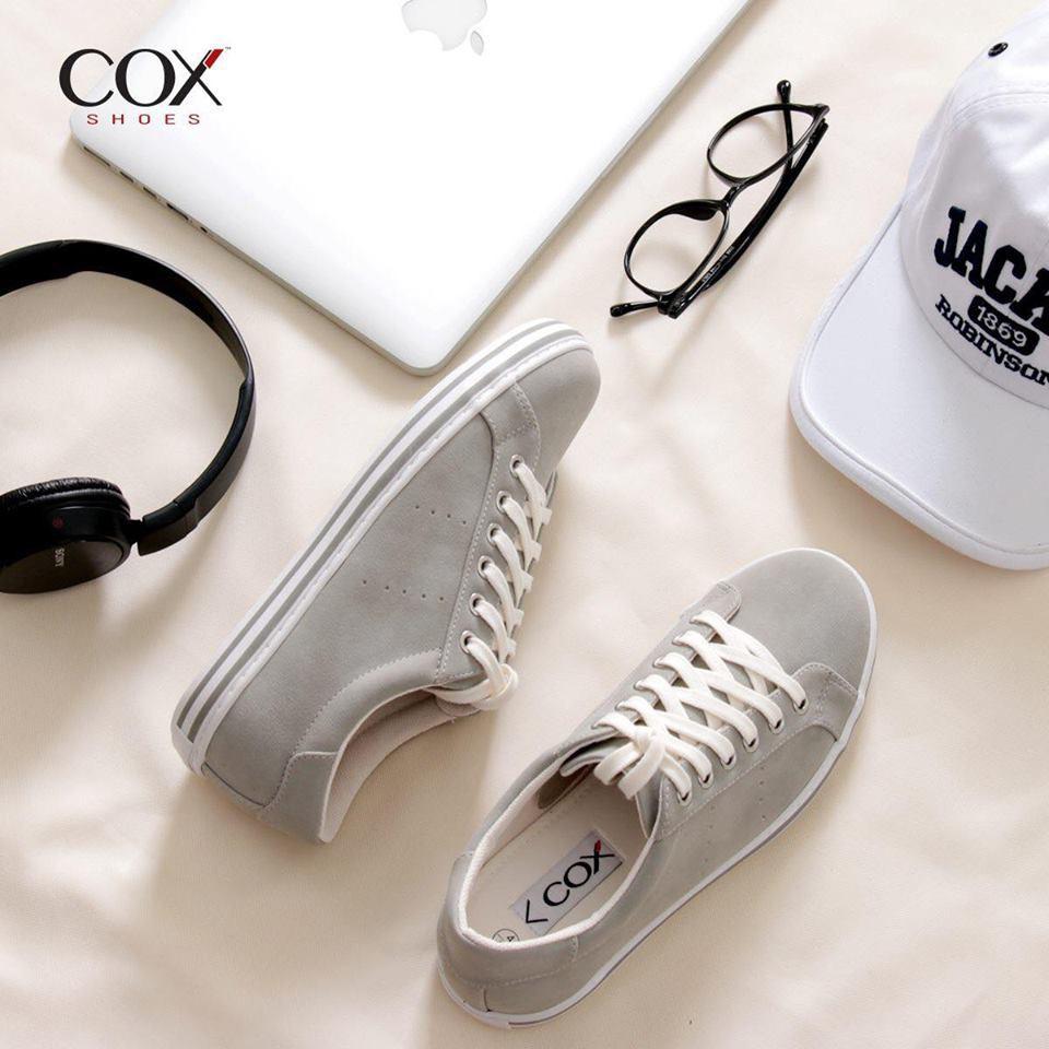 Giày Thể Thao Nữ Cox Shoes L,T.Grey G4 [giày 32]