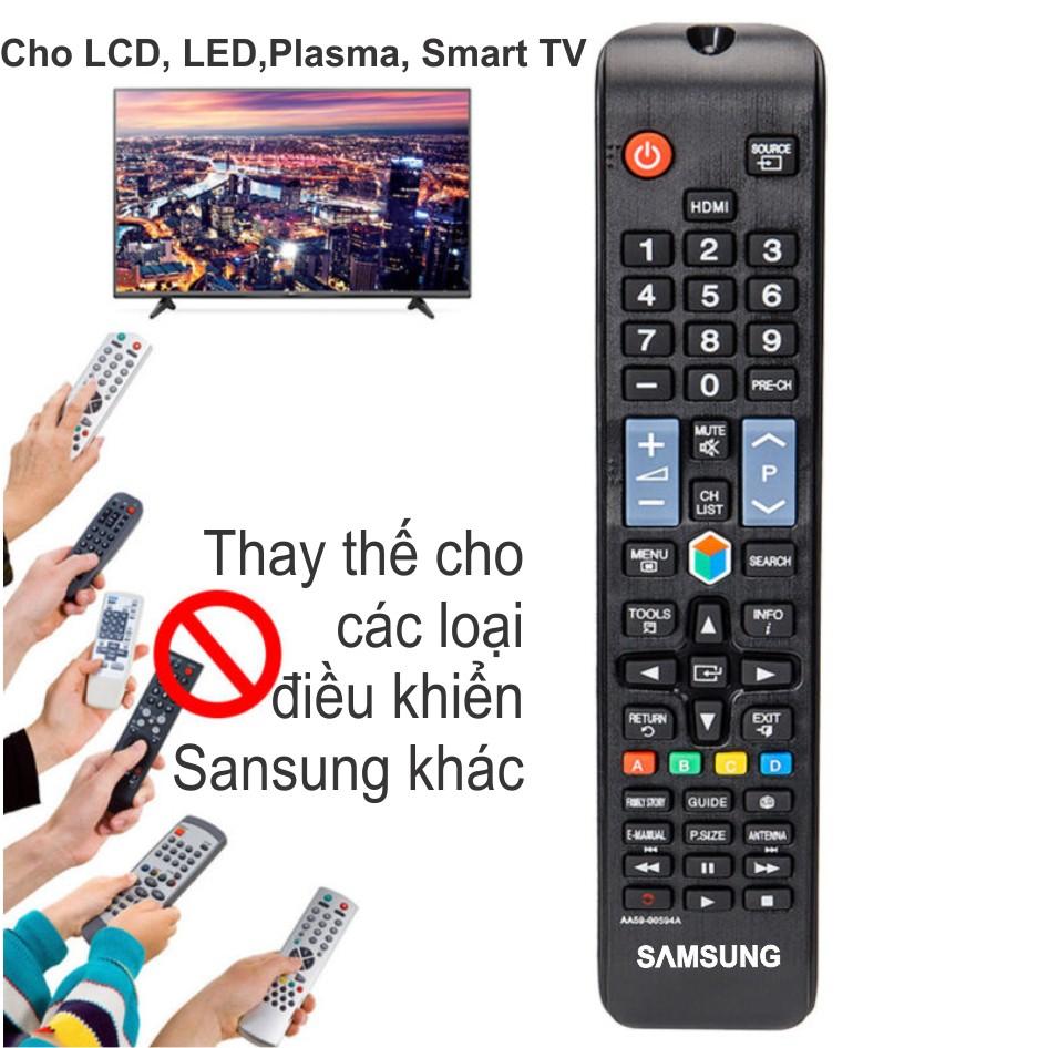 [Mã ELSR11 giảm 6% đơn 400K] Điều khiển TV Samsung LCD/LED/Plasma/Smart TV (Cho tất các đời TV Samsung hiện nay).
