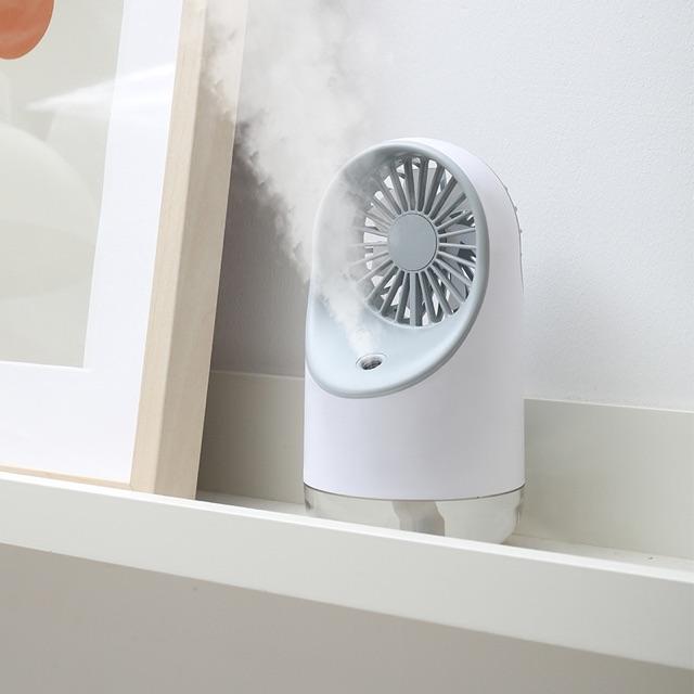Quạt mini phun sương 3 tốc độ spray FAN chính hãng