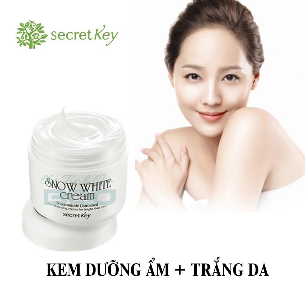 Kem Dưỡng Trắng Da Snow White Cream Secret Key 50g - 3574185 , 1194299702 , 322_1194299702 , 160000 , Kem-Duong-Trang-Da-Snow-White-Cream-Secret-Key-50g-322_1194299702 , shopee.vn , Kem Dưỡng Trắng Da Snow White Cream Secret Key 50g