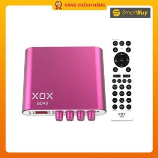 Sound card livestream kỹ thuật số XOX BD40 100 hiệu ứng âm thanh - Hàng chính hãng thumbnail