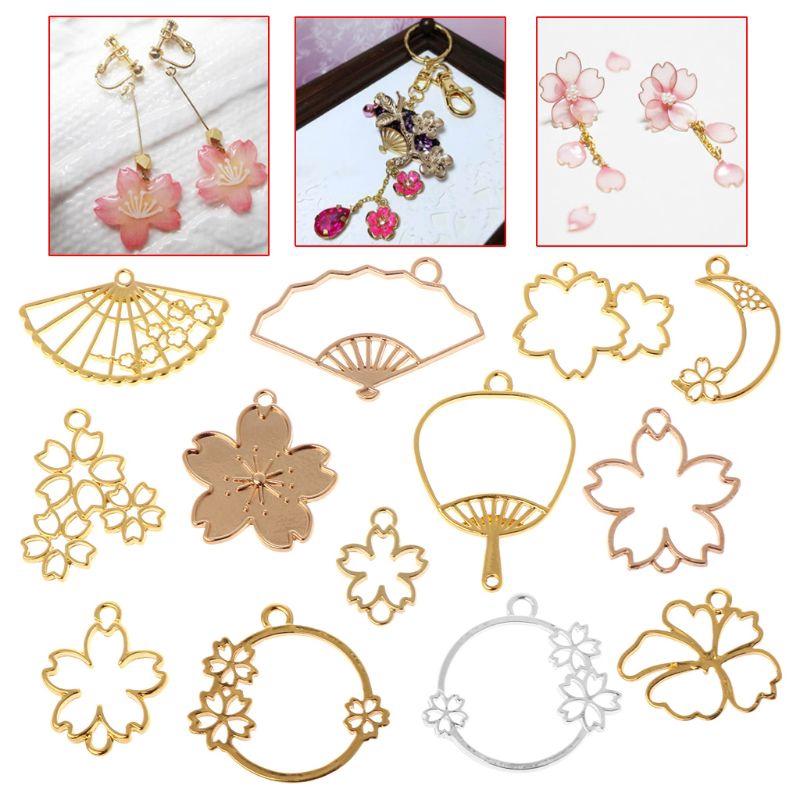 Set 13 vật liệu nhiều kiểu dáng làm bằng kim loại dùng trang trí khuyên tai / vòng tay xinh xắn - 15009704 , 2473097144 , 322_2473097144 , 112046 , Set-13-vat-lieu-nhieu-kieu-dang-lam-bang-kim-loai-dung-trang-tri-khuyen-tai--vong-tay-xinh-xan-322_2473097144 , shopee.vn , Set 13 vật liệu nhiều kiểu dáng làm bằng kim loại dùng trang trí khuyên tai