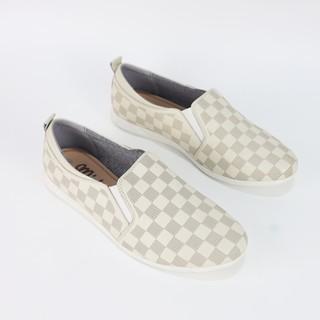 Giày slip on đế bằng da thật Misho 1129