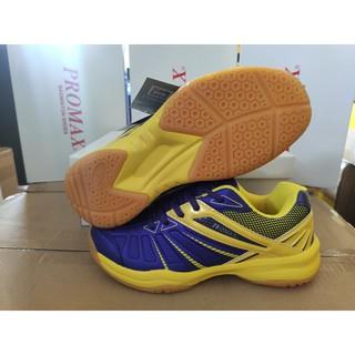 Giày cầu lông PROMAX 19004 chính hãng Động Lực Tím pha vàng