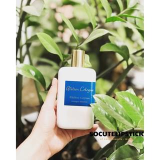 Nước hoa mùi Trà Atelier Philtre Ceylan Cologne Absolue 5ml 10ml - Mùi Trà đen và bạch đậu khấu