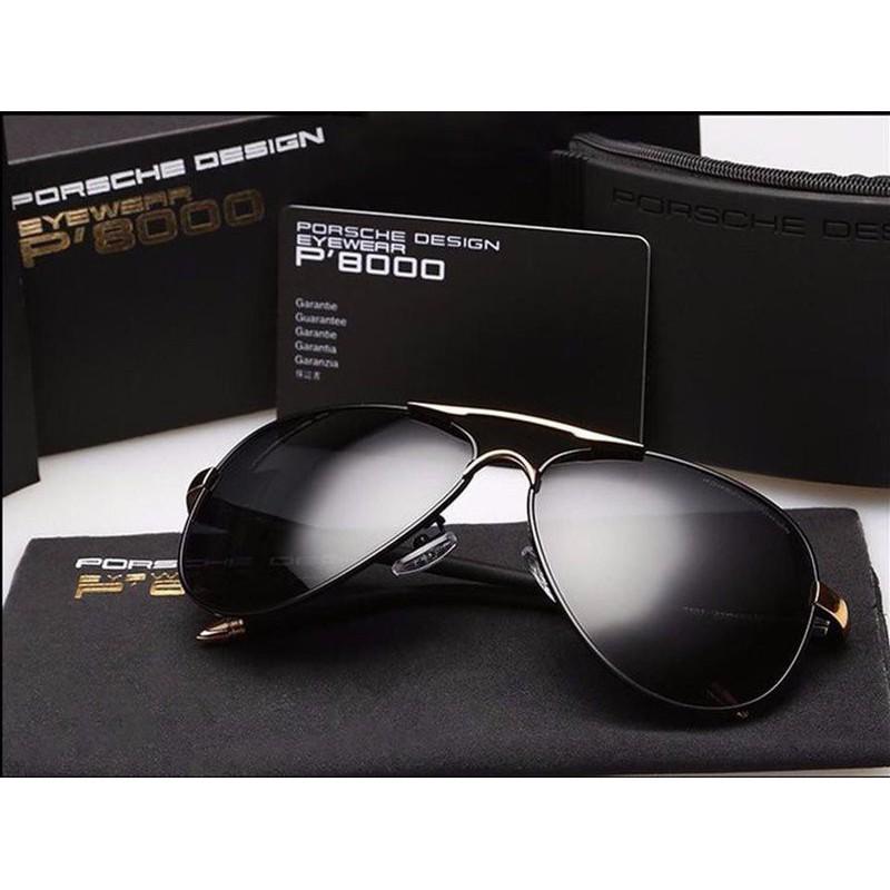 [HOT]Mắt kính thời trang porsche P8000 full box