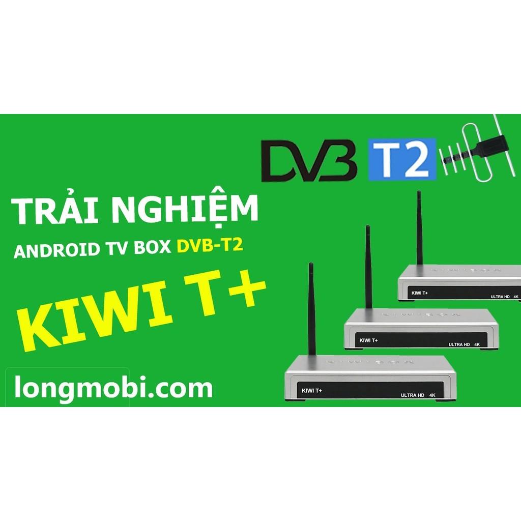KIWI T+ -KM TẶNG KÈM ANTEN VÀ DÂY 15M THU SÓNG DVB-T2.