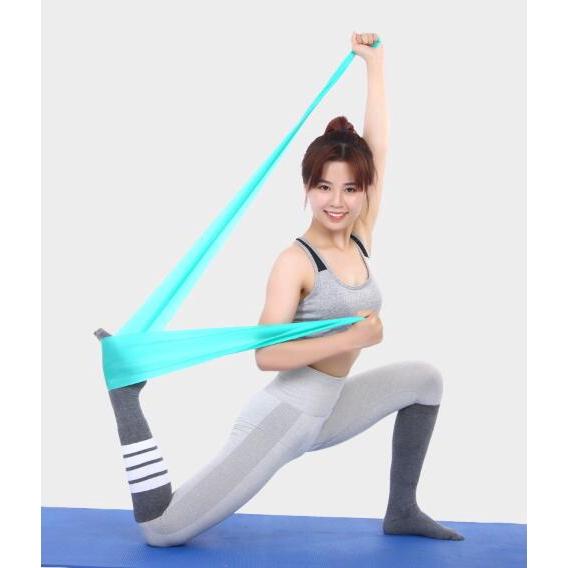 Dây Đai Kháng Lực Co Giãn Linh Hoạt Hỗ Trợ Luyện Tập Yoga / Thể Hình
