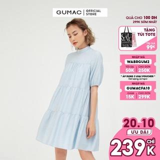 [Mã WABRGUM2 giảm 10% đơn 250000] Đầm babydoll rã tùng GUMAC nhiều màu dễ thương DB583 thumbnail