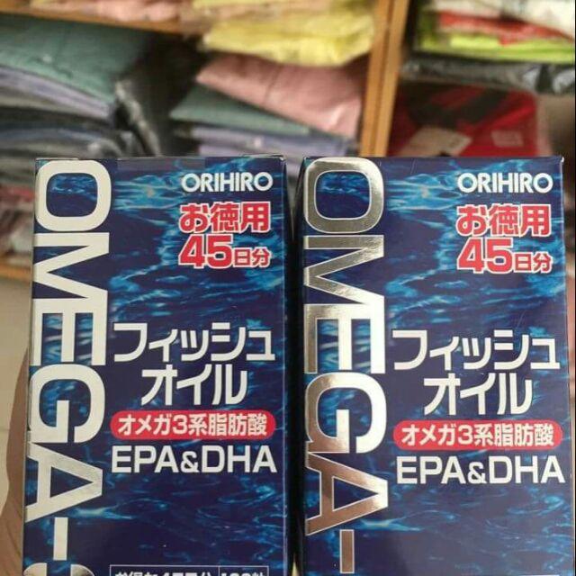 Dầu cá Omega 3 0rihiro của nhật bản - 3608557 , 931653692 , 322_931653692 , 445000 , Dau-ca-Omega-3-0rihiro-cua-nhat-ban-322_931653692 , shopee.vn , Dầu cá Omega 3 0rihiro của nhật bản