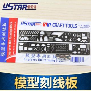 Dụng cụ mô hình – Thước kẻ lằm chìm scriber UA90035