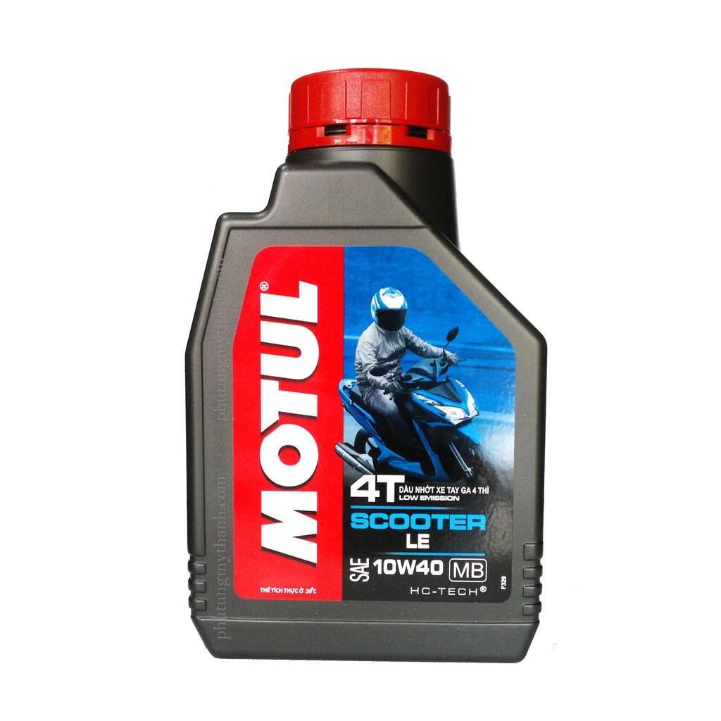 Nhớt Motul Scooter LE 10W40 1000ML