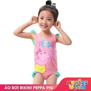 Áo bơi bikini một mảnh heo Peppa Pig cho bé gái 1-9 tuổi