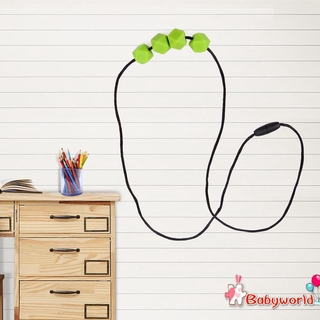 DIY Bracelet Kids Mom Soft Silicone Gel Jewelry Decor Baby Teether