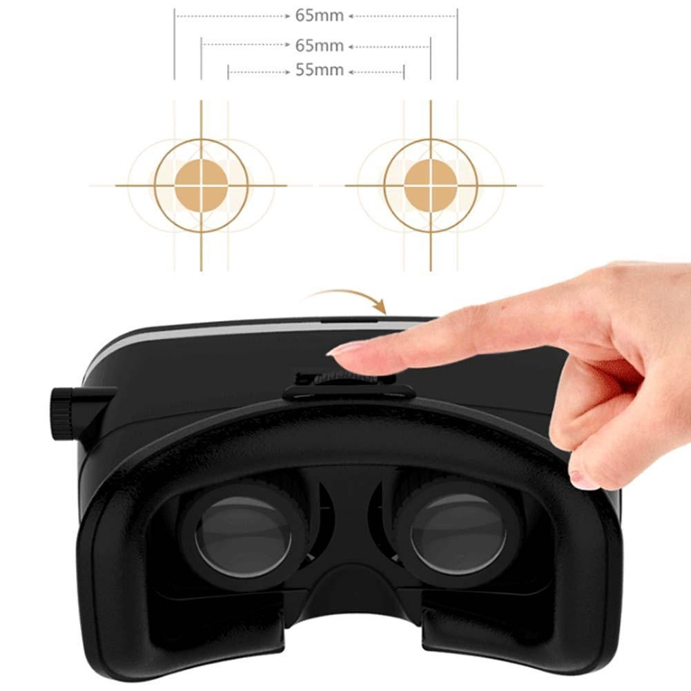 Virtual Reality 3d Glass Vr Mobile Helmet Tv Movie Headset For Smart Phones