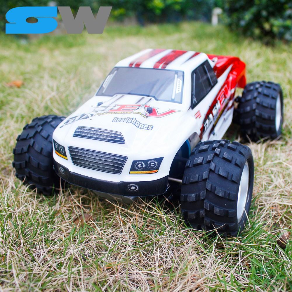 Xe Đua Địa Hình Điều Khiển Từ Xa Tốc Độ Cao 70km/h Wltoys A979-B, Offroad 4WD 1/18 Monster Truck RC Car