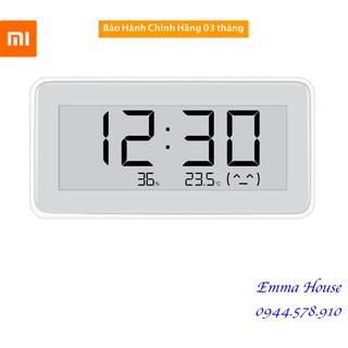 Đồng Hồ Kiêm Nhiệt Kế, Ẩm Kế Điện Tử Xiaomi Mija Pro 3in1 – Bảo hành 01 tháng
