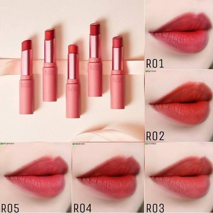 testimonianza attuatore Asso  Son Black Rouge Rose Velvet Lipstick | Shopee Việt Nam