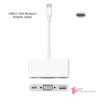 [Mã ELMSBC giảm 8% đơn 300K] Adapter chuyển đổi Apple USB-C to VGA Multiport - MJ1L2 [Hàng chính hãng nguyên seal hộp]